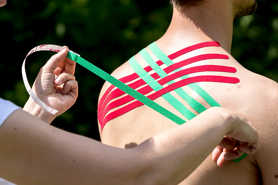 Kinesiotaping - nicht nur für Sportler!